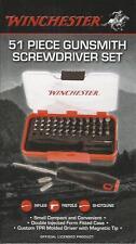 51 Piece Gunsmith Driver Set hex phillips torx robertson tri-wing clutch spline