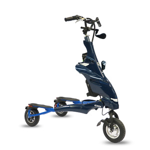 TRIKKE eV6.1 Elektroscooter I Elektroroller I Dreirad Scooter mit Carving Gelenk
