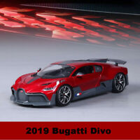 Bburago 1:18 Scale 2019 Bugatti Divo Red Diecast Car Model Toy Collection