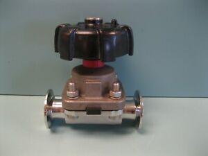 "1-1/2"" Gemu Stainless Steel Sanitary Diaphragm Valve F19 (2922)"