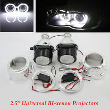 "2.5""HID Bi-xenon Projector Len Headlight bright w/Light Guide Angel Eye Inverter"