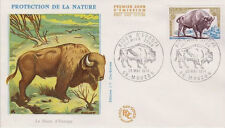 FRANCE FDC - 887 1795 2 BISON D'EUROPE 25 5 1974 - LUXE