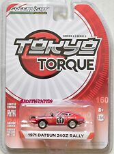 GREENLIGHT 2018 TOKYO TORQUE SERIES 2 1971 DATSUN 240Z RALLY RED