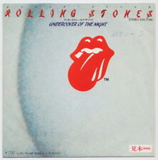 The ROLLING STONES * Undercover Of The Night * 1983 JAPAN PROMO 45 * Listen!