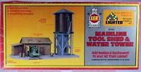 AHM HO Mainline Tool Shed and Water Tower Kit 15705  Masterpiece Series II