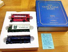 EFE 99901 la Tate & Lyle Story Serie AEC Regent BUS AEC BOX VAN & AEC petroliera 1:76
