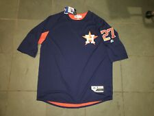 NWT Authentic On Field 2017 Houston Astros ALTUVE 27 Pre Game Jersey XL Majestic