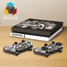 Isoskin® Ellie & Joel with Monsters Black & White Playstation 4 (PS4) Skin Decal