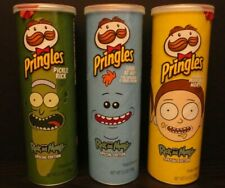 RICK AND MORTY LIMITED Edition ALL 3 in SET MORTY MEESEEKS PICKLE RICK Pringles
