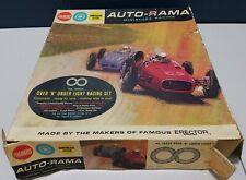 1964 A.C.Gilbert Auto-Rama Slot-Car Road Race Set Vintage Toy Memorabilia AD