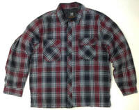 NEW Men's BC Clothing Quilted Shirt / Jacket - Snap Front VARIETY Size & Color!