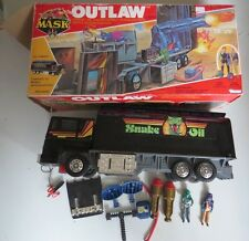 MASK M.A.S.K. Kenner Outlaw Complete w Box, instructions