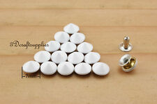 rivets leather rivet bag clothing shoes Cone 100 sets 7 mm AT53N