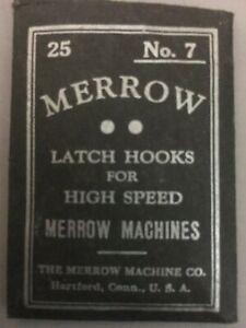 MERROW BLANKET STITCH (NO.7) INDUSTRIAL SEWING MACHINE  NEEDLES