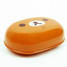 Rilakkuma Brown Soap Dish with Drain Dispenser Holder Case Container Bathroom