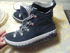 Sorel, Ankle boot, black with rubber sole, size 4, great condition