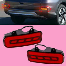 Rear Bumper Reflector LED Tail Brake Light Fit For Honda CRV 2015 2016