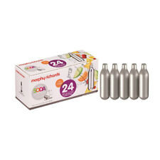 More details for cream co2 soda 8g chargers soda sparkle 24 pack co2 cartridges capsules creamers
