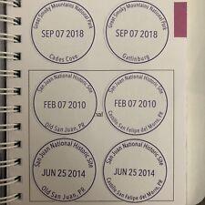 National Park Passport Cancellation Stamp