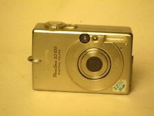 *not tested Canon PowerShot SD100 Digital Elph camera 3.2MP metal body
