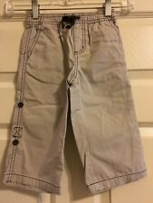 Janie and Jack Classic Red Bicycle Elastic Waist Boys Pants Size 18-24M
