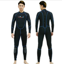 Men 2mm Neoprene Dive Suits Scuba Snorkeling Free Dive Long Warm Wetsuits New