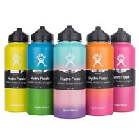 Hydro Flask Wide Mouth Stainless Steel Bottle With Cap Multicolor 18/32/40oz