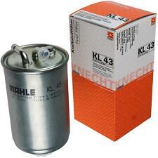 Original MAHLE / KNECHT Kraftstofffilter KL 43 Fuel Filter