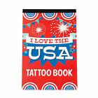 Patriotic Foil Tattoo Book - Apparel Accessories - 1 Piece