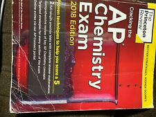 2018 AP Chemistry Textbook, Princeton Review, 2 Practice Tests