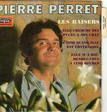 PIERRE PERRET LES BAISERS FRENCH ORIG EP JEAN CLAUDRIC