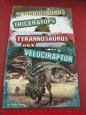 Dinosaur 4-D books-4 different