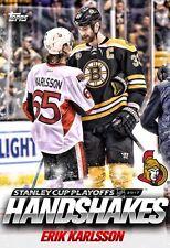 HANDSHAKES ERIK KARLSSON Topps NHL Skate Digital Card