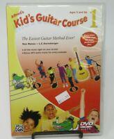 ALFRED'S KID'S GUITAR COURSE 1 DVD, HOST JANET ROBIN, EASIEST GUITAR METHOD