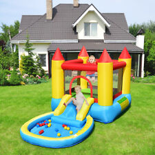 Kids Play Inflatable Bounce House Slide Game Jumping Castle w/ balls Pool &Bag