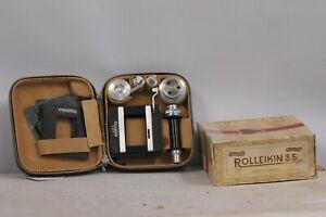 Rolleiflex Rolleikin Set with Case & Counter Knob