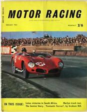 MOTOR RACING Magazine Feb 1962 - Lotus Victories, Merlyn, Fantastic Ferrari