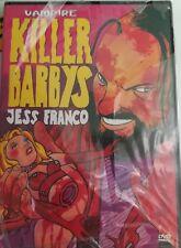 KILLER BARBYS DVD horror jess franco