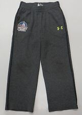 UNDER ARMOUR Toddler Boys ACTIVE ROOT PANTS CHARCOAL Black Sz 4 Military Bowl