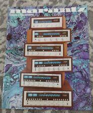 Marantz 2325 2275 2250 2235 2220 Vintage  Original Dealer Brochure
