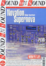 NOVATION SUPERNOVA / PASCAL GABRIEL	Sound on Sound	Aug	1998