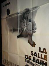 LA SALLE DE BAIN Gunilla Karlzen TOM NOVEMBRE affiche cinema