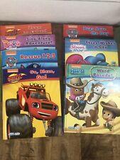 Nickelodeon Smart Pad Lot Of 7 Books- Dora, Paw Patrol, Blaze, bubble Guppies