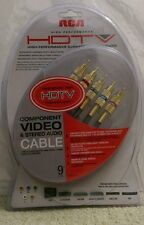 component video and stereo cable