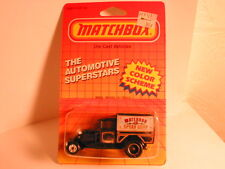 """Matchbox 1980`s Mb38 Model A Truck blue & black """"Matchbox Speed Shop"""""""