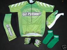 New GOT PASSION ? Cycling Passion Set Green Jersey XXL