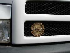U.S. NAVY SEAL TEAM  BRASS PLATED GRILL BADGE MEDALLION