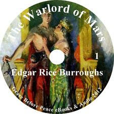 The Warlord of Mars, Edgar Rice Burroughs Audiobook Unabridged Fiction 1 MP3 CD