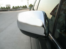 Chrome Door Side Rear View Mirror Garnish Cover for Subaru Forester S4
