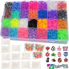11,750+ Tie-Dye Fashion Original Rainbow MEGA Refill Loom Bands by Talented in